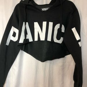 Tops - Panic! At the Disco cropped Hoodie 2016 Tour M
